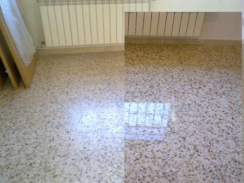 Restauraci n de suelos for Como pulir suelo de terrazo